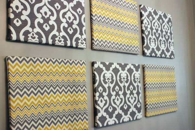 Wall Art Designs Amazing stretched fabric wall art simple