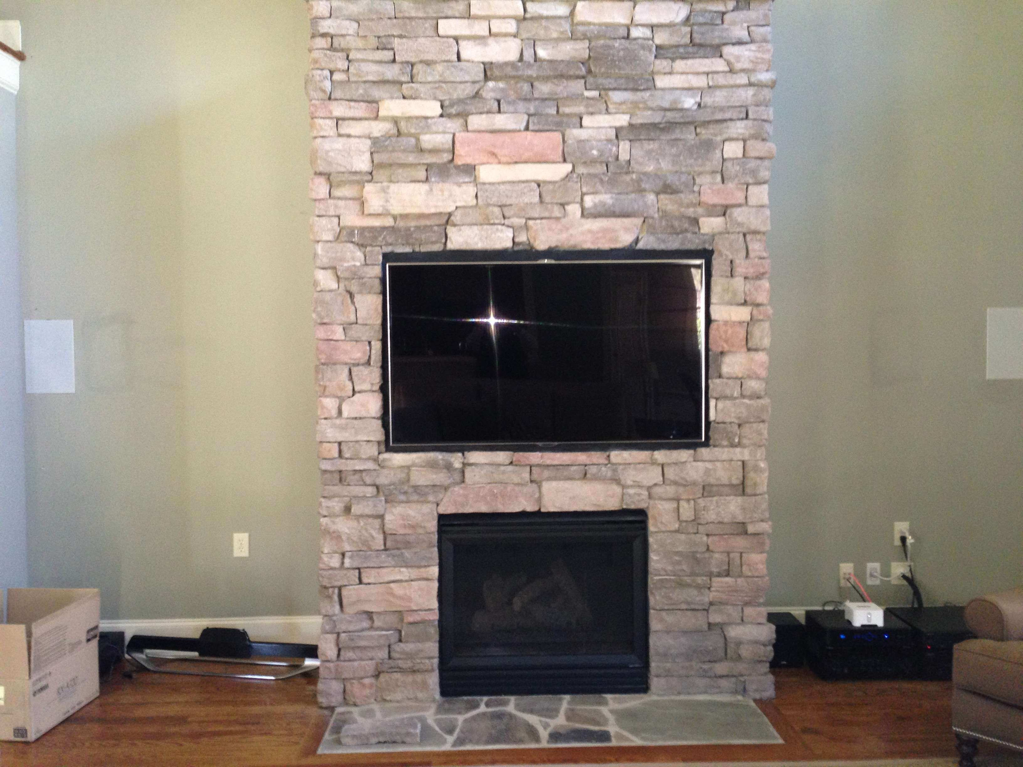 Flat Screen Installation on a Brick Wall or Fireplace Neuwave Systems