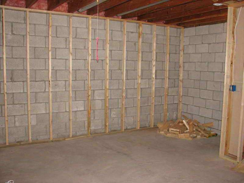 How to How To Frame A Basement Basement Renovations
