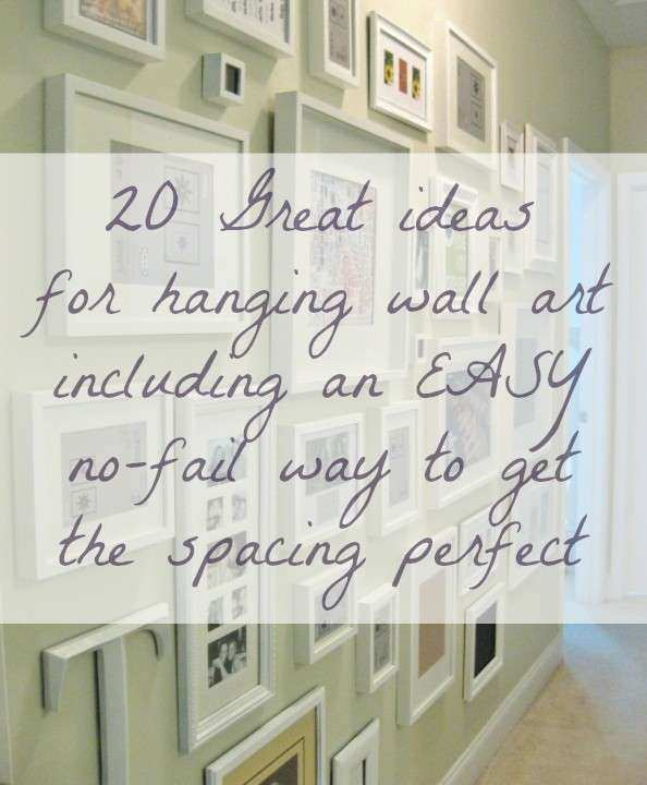 Wall Art Ideas AND Tips for Hanging Arranging
