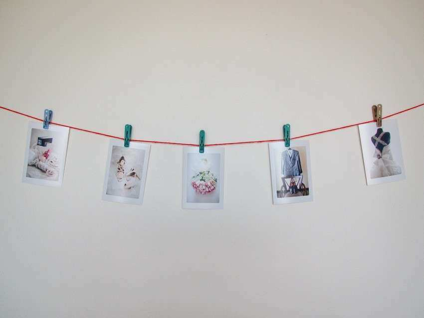 Colorful Ideas For Hanging Pictures Without Frames Mold - Frames ...
