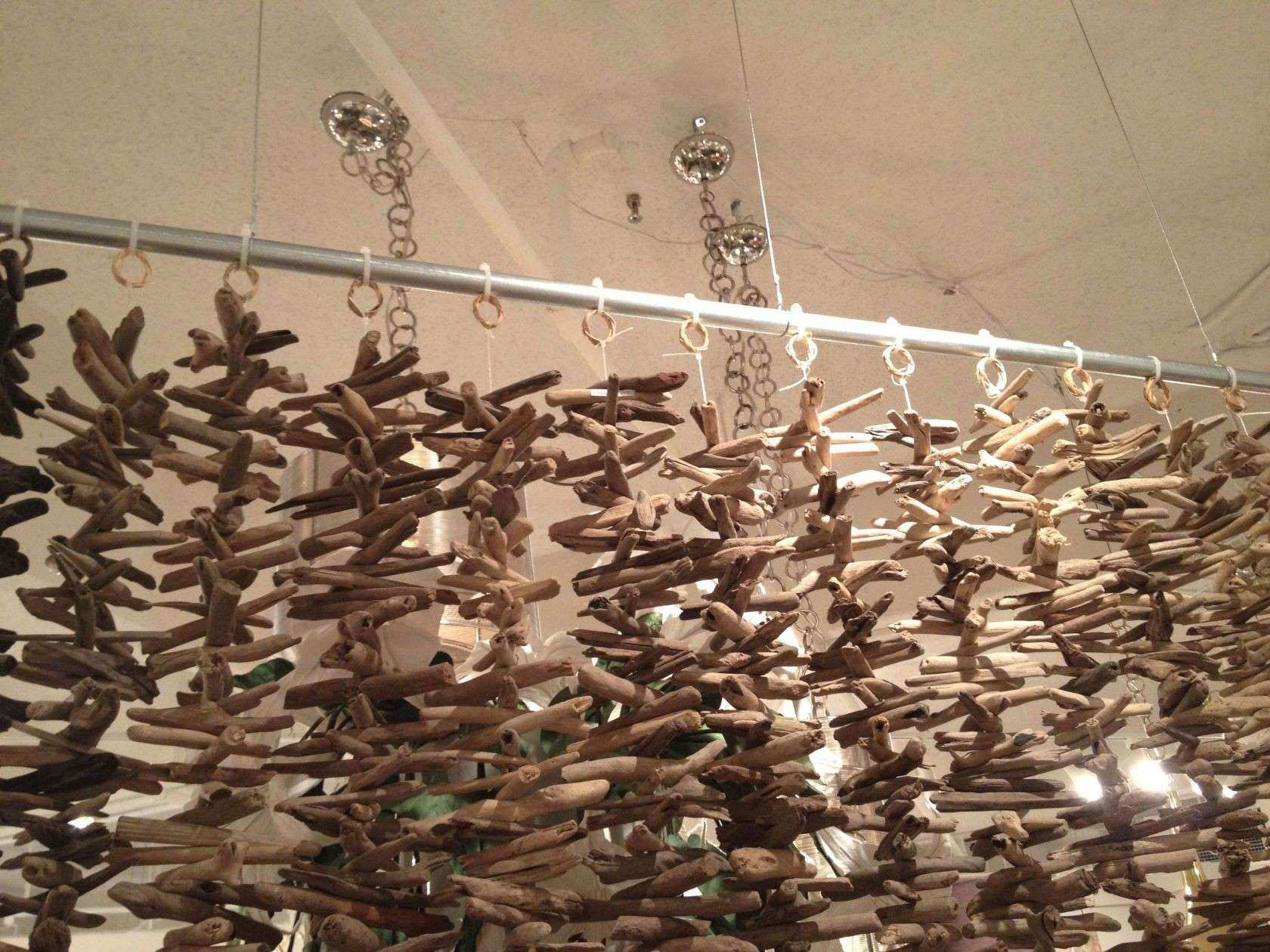 Natural Rustic Driftwood Garland 8 Feet