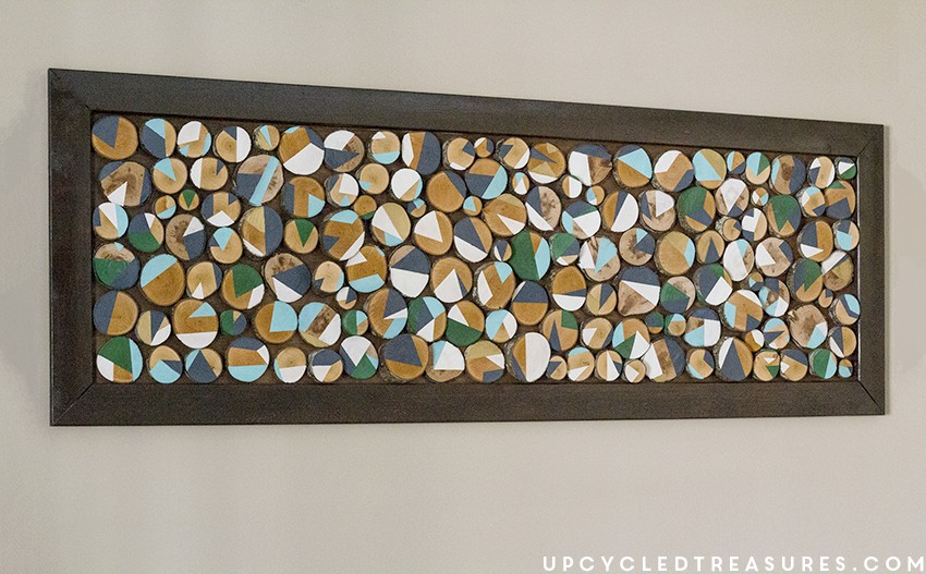 How to Make Wood Slice Art from Branches