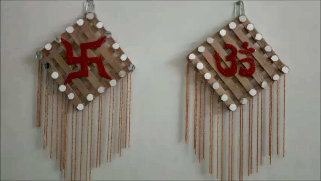 How to make OM and SATYA wall hanging DIWALI Special