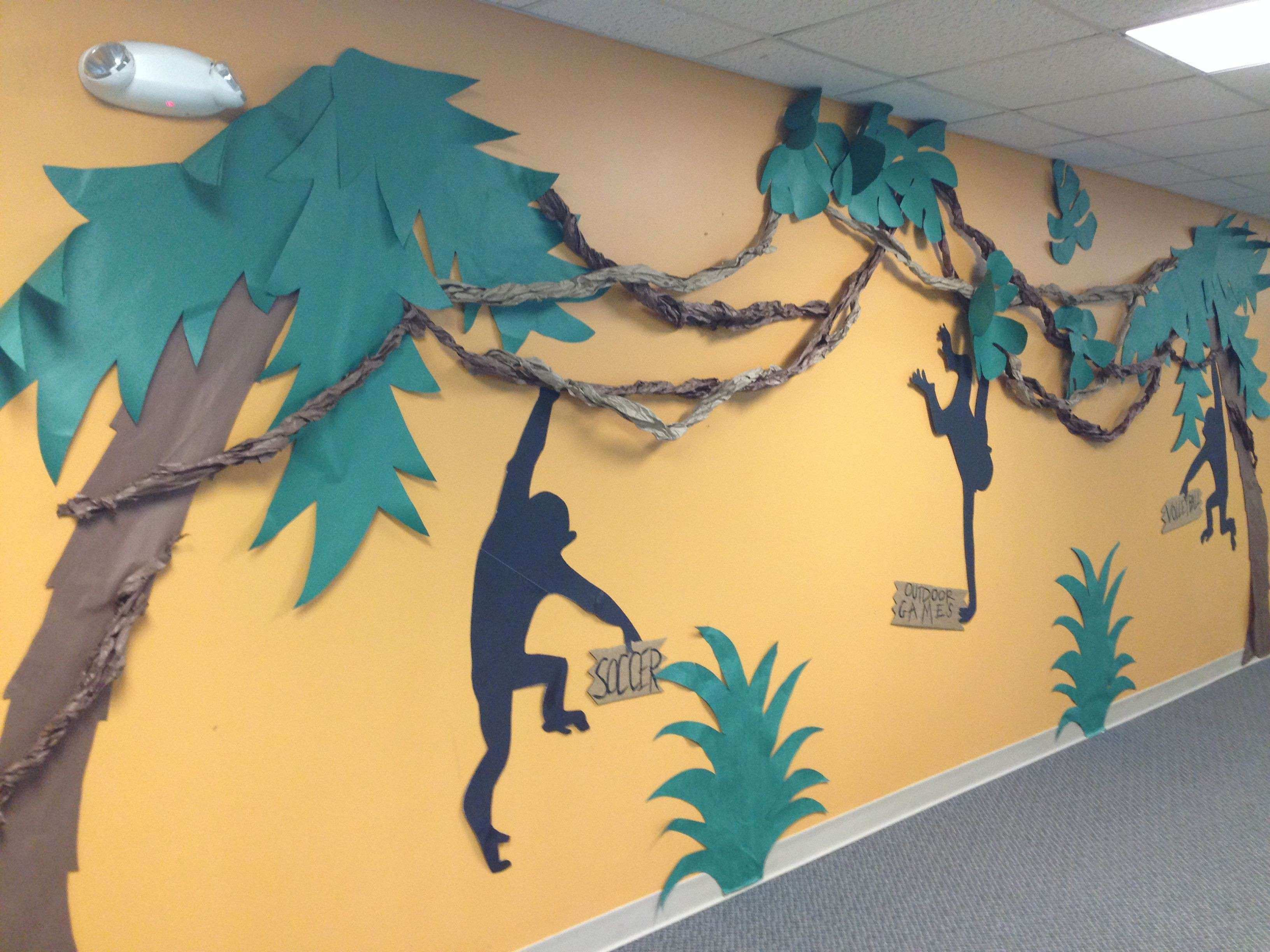 How to Make Wall Prints Lovely Journey Off the Map Vbs Decorations ...