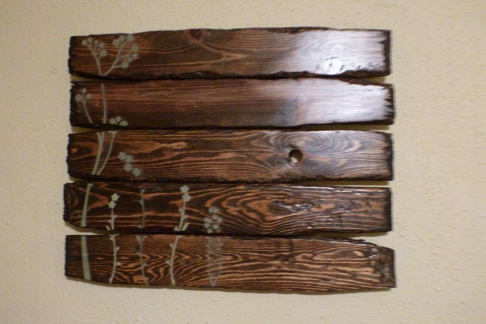 How To Make Wood Plank Wall Art Lovely Handmade Mayhem Reclaimed Wood Wall  Art