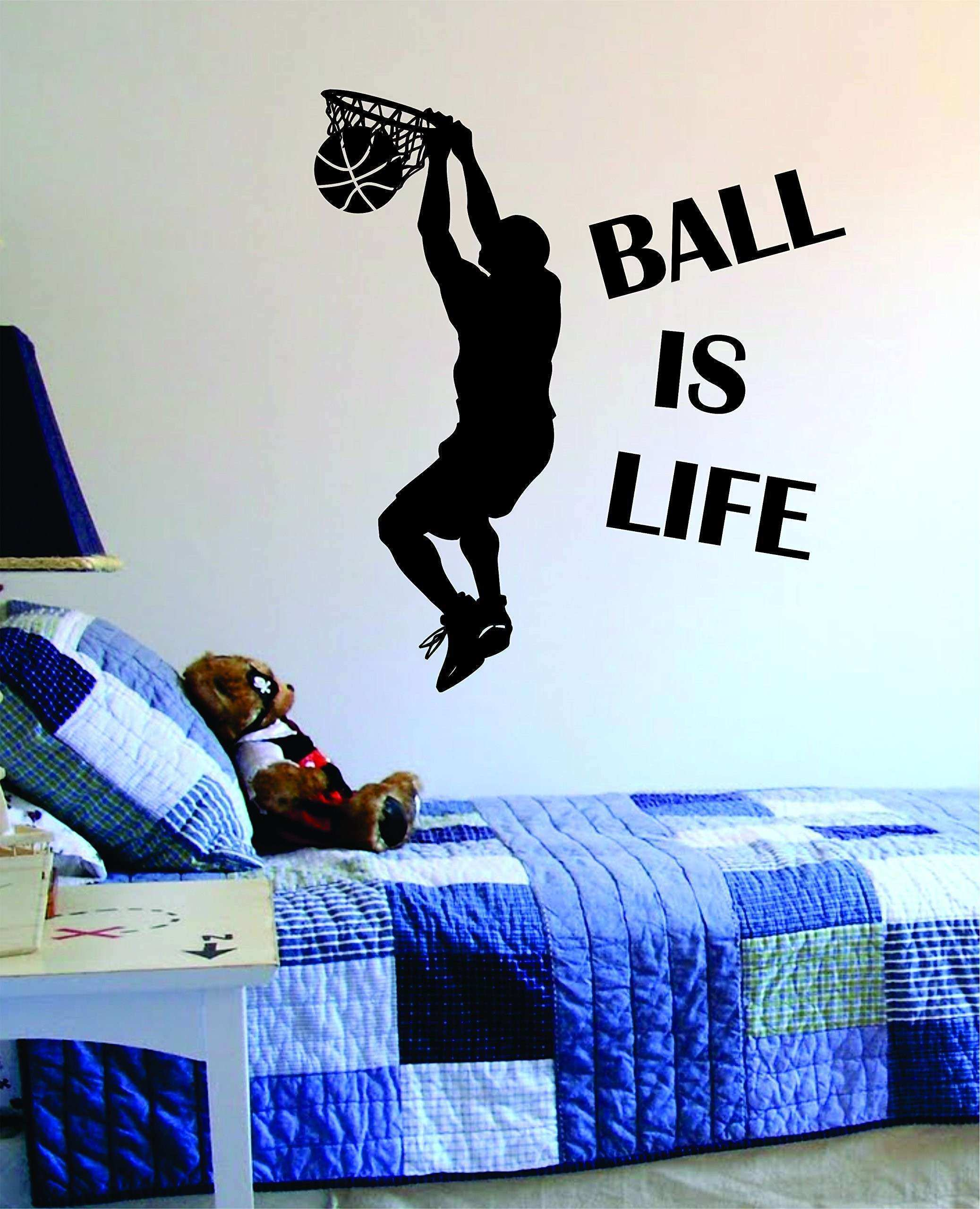 Amazon Basketball Wall Decals sports Boys Wall Decals for