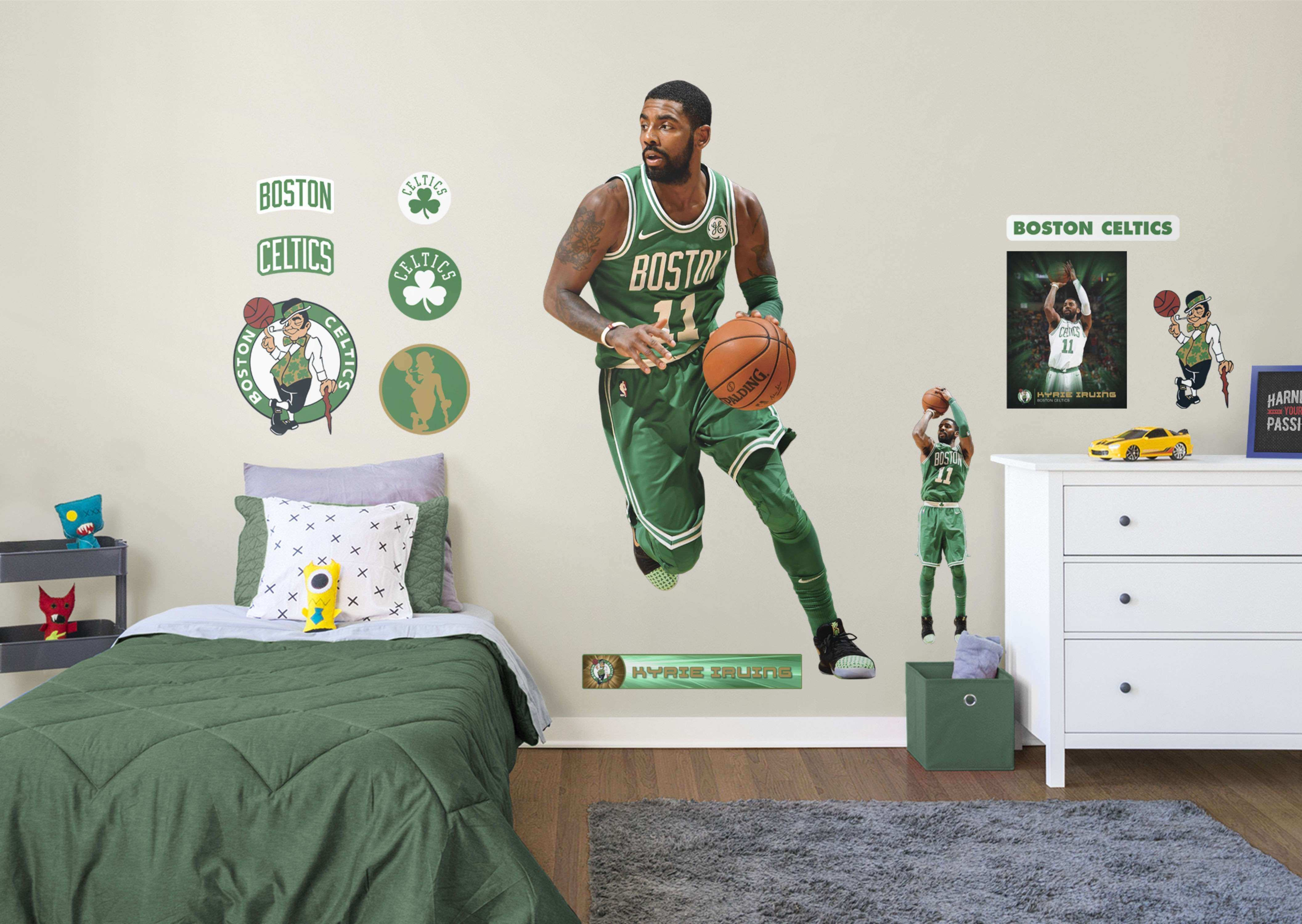 Life Size Kyrie Irving Fathead Wall Decal