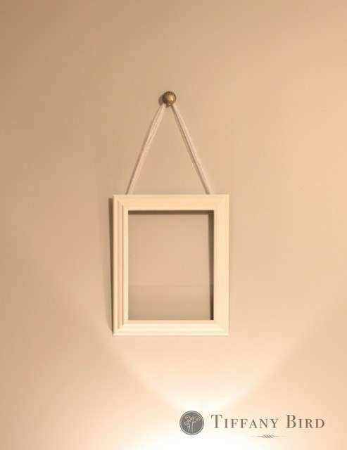 Picture Frames Hanging From Ribbon Picture Frame Ideas