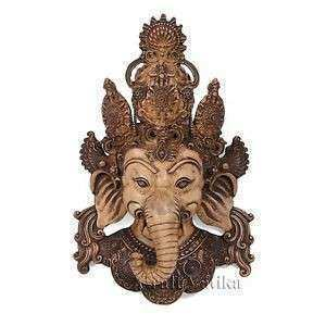 Wall Hanging Mask Decor Indian Wall Art Wall Sculpture