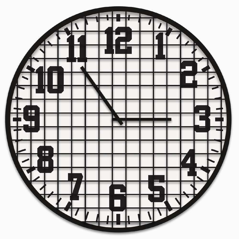 INDUSTRIAL METAL Clock PTMimages