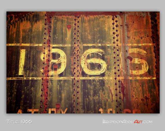 Urban Decay 1966 Number Train Decor Train by