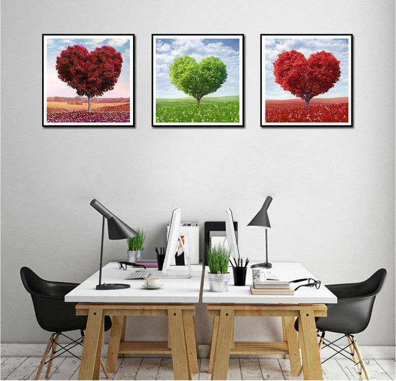 Inexpensive Wall Art Luxury Not Framed Canvas Print Cheap Home Fice ...