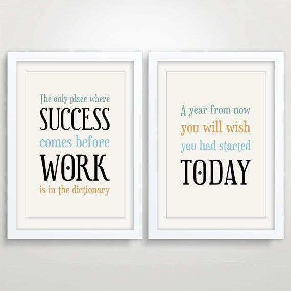 fice Wall Art Inspirational Quotes QuotesGram