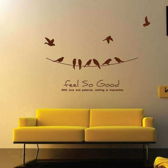 Inspiring Wall Sticker Art