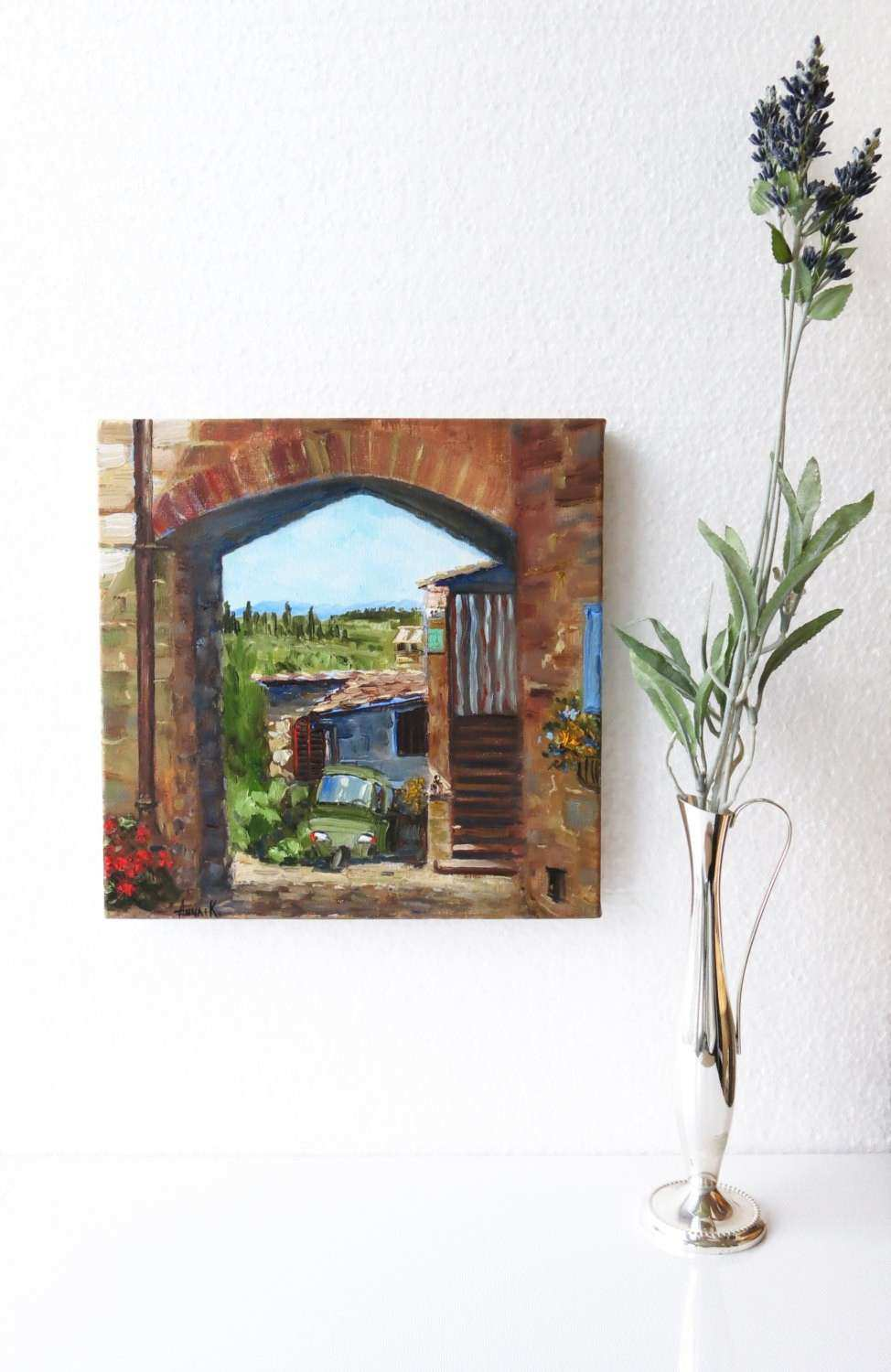 Italian Wall Decor Best Of Italy Wall Art Italy Painting Small Landscape  Painting Italian