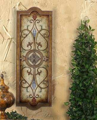 Tuscan Wall Plaque Tuscan wall decor