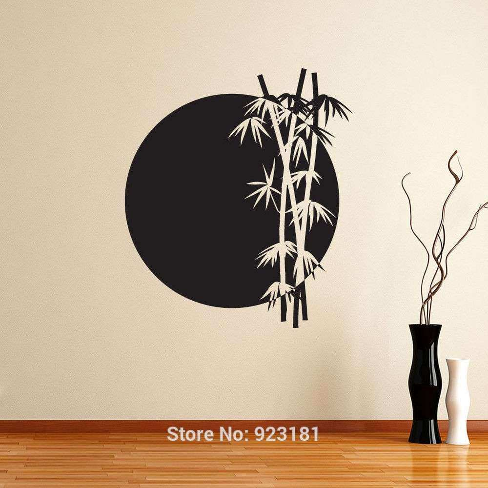 Superior Japan Wall Decor Elegant Wall Art Design Ideas Grey Moon Japanese Wall Art  Black