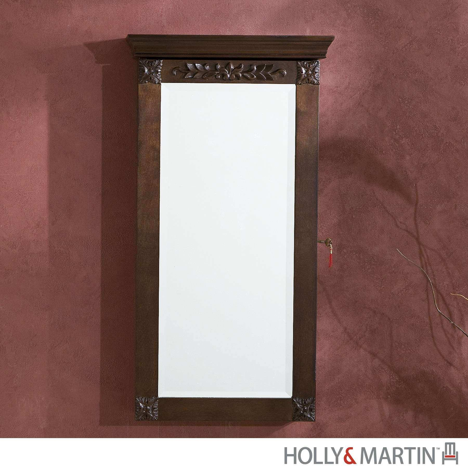 Holly & Martin Vivienne Wall Mount Jewelry Armoire 57 248 059 3 12