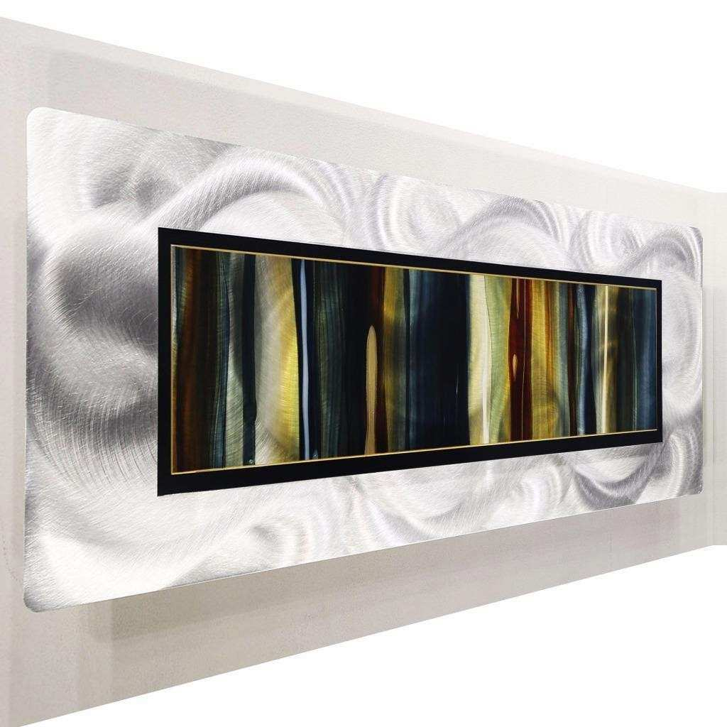 Metal Abstract Modern Painting Wall Art Decor Sculpture by
