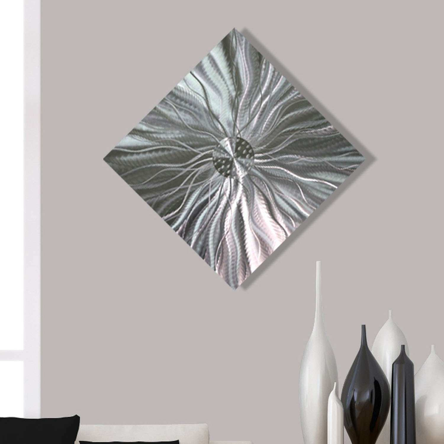 Contemporary Abstract Metal Wall Art Home Decor Static