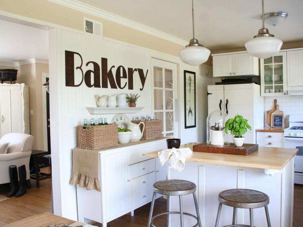 Kitchen Wall Decor Ideas Pinterest Inspirational Shabby Chic Style ...