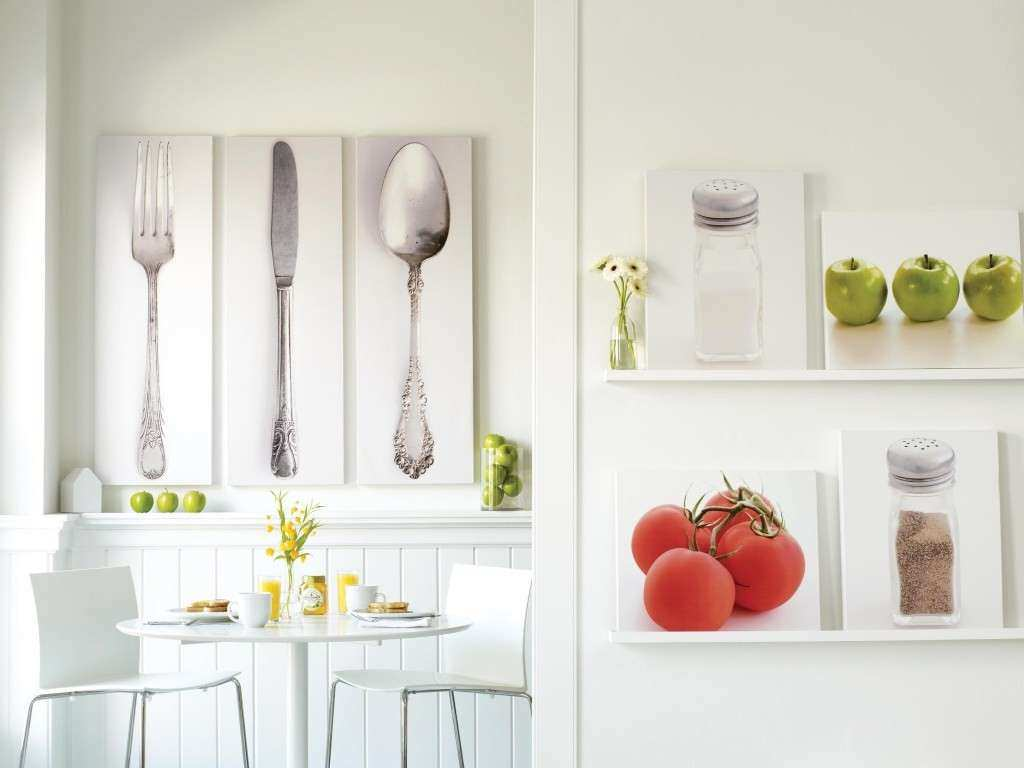 How to Decorate a Kitchen Wall TheyDesign