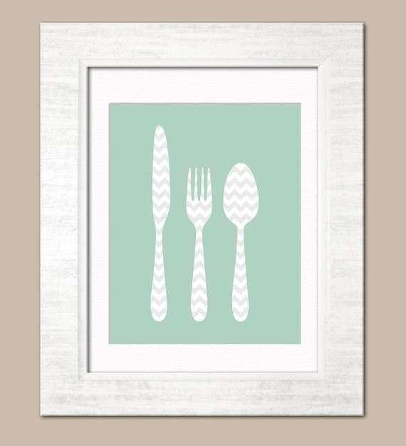71 best Knife Fork & Spoon Wall Art images on Pinterest