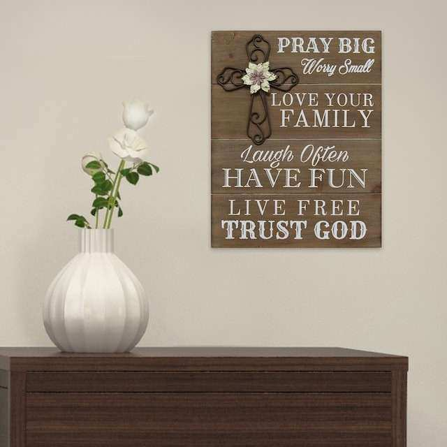 Kohls Home Decor Wall Art ~ Kohls wall decor luxury stratton home quot pray big