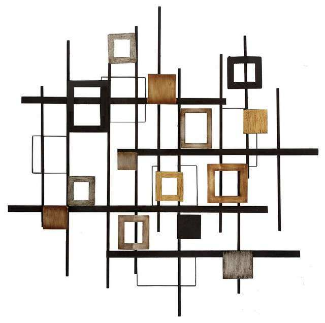 Metal Abstract Wall Art Contemporary Wall Sculptures