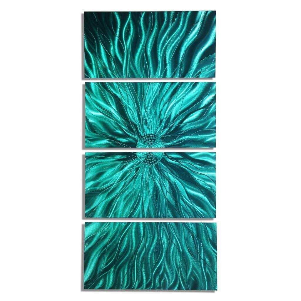 Contemporary Abstract Metal Wall Art Sculpture
