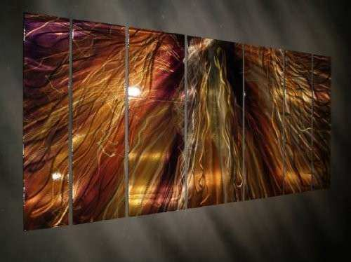Oversized Metal Wall Art abstract metal wall art images