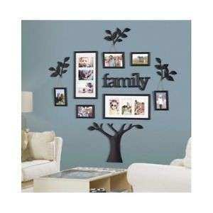 Family Tree Picture Frame Set For Walls Collage