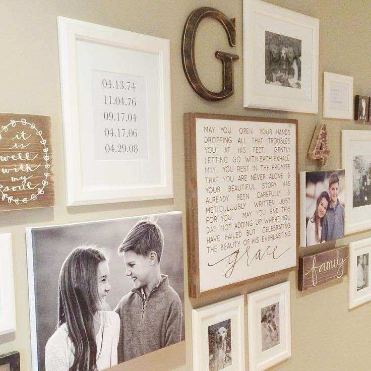 Adorable 25 Collage Picture Frames For Wall