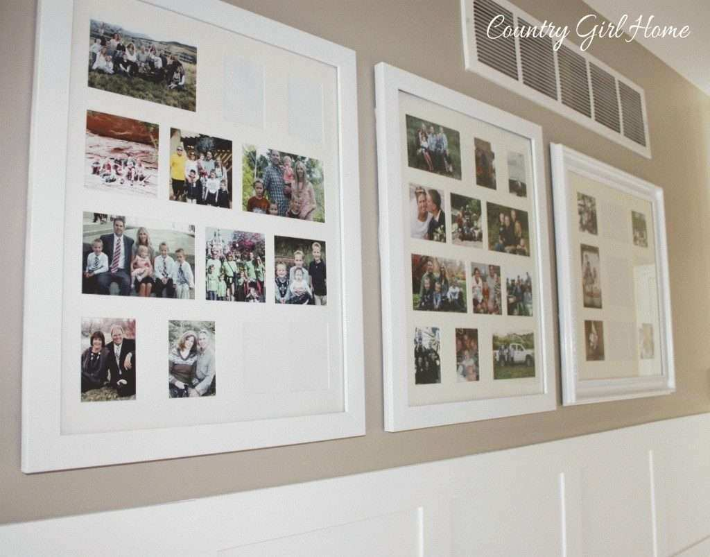Large Collage Picture Frames for Wall Unique Picture Frames Country ...