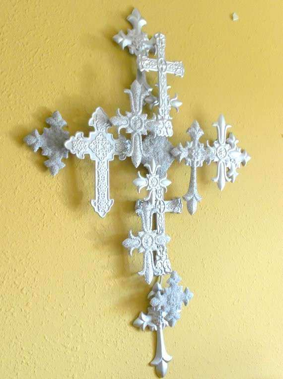 Dorable Iron Crosses Wall Decor Mold - Wall Art Collections ...