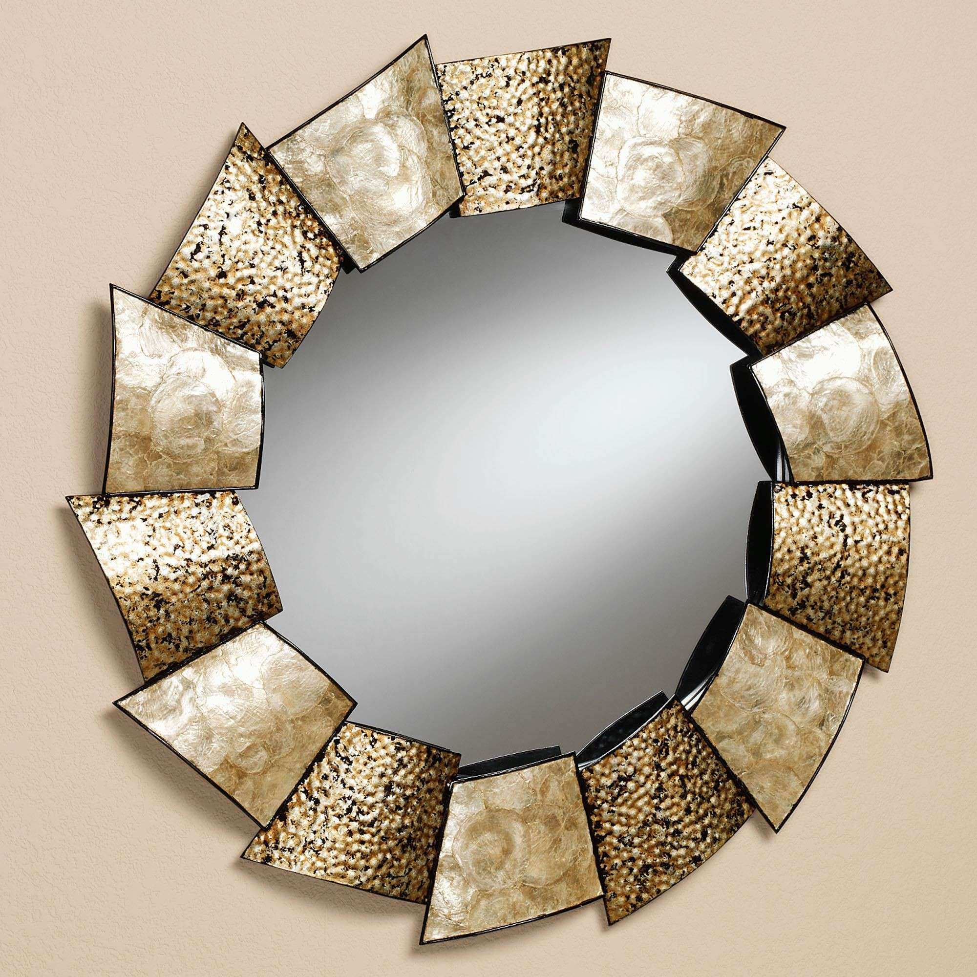 Large Decorative Wall Mirror Fresh Metal Framed Mirrors Wall Mirror ...