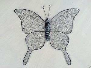 Metal Wire Butterfly Wall Art Decor Home