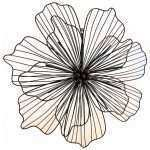 Large Metal Flower Wall Art Best Of Tropical Hibiscus Flower Oversized Metal Wall Hanging Of Large Metal Flower Wall Art