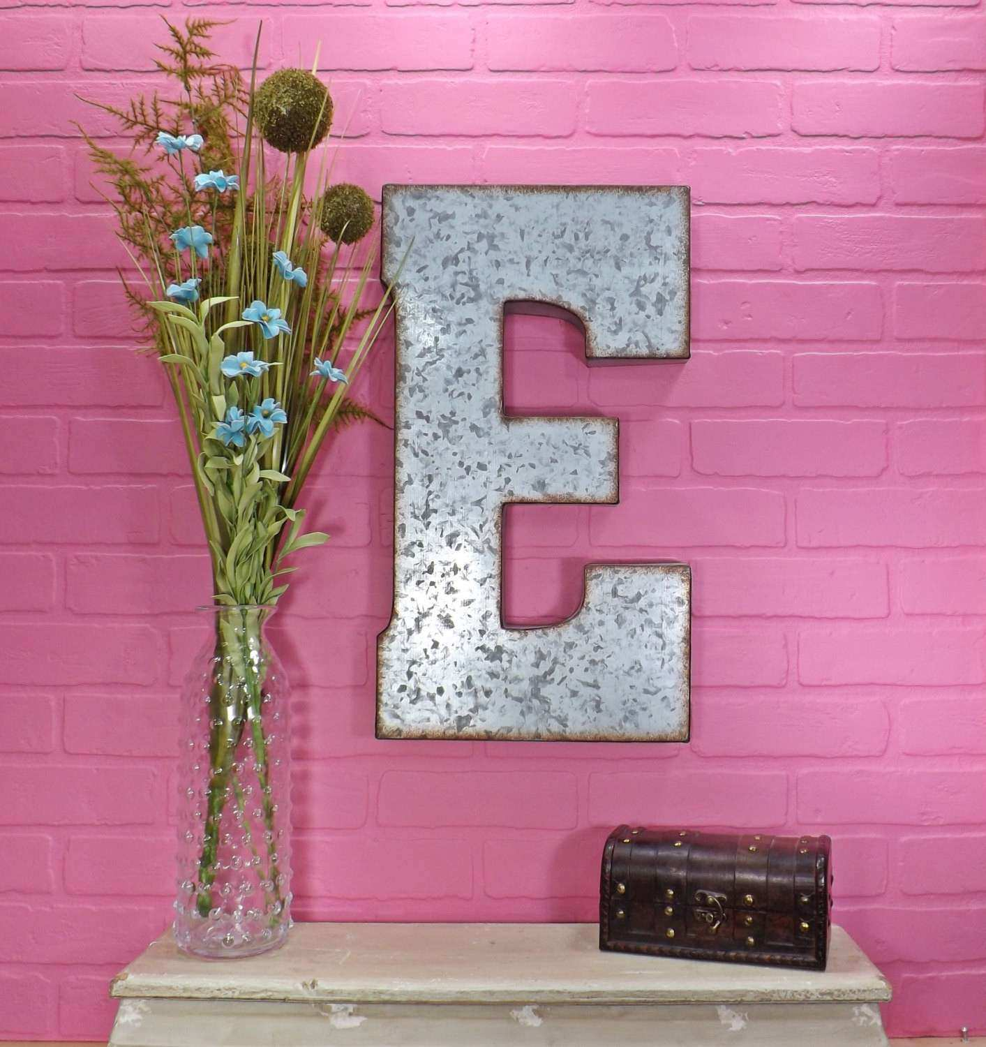 Metal Letter 20 inch Metal Letter Wall Decor