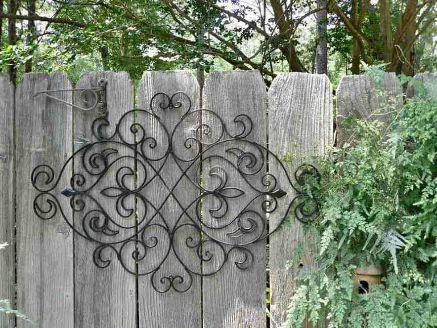 Large Metal Outdoor Wall Art Awesome Outdoor Wrought Iron Wall Decor ...