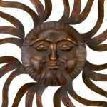 Large Metal Sun Wall Art New Enjoyable Metal Sun Wall Art Sunburst Celestial Extra Of Large Metal Sun Wall Art
