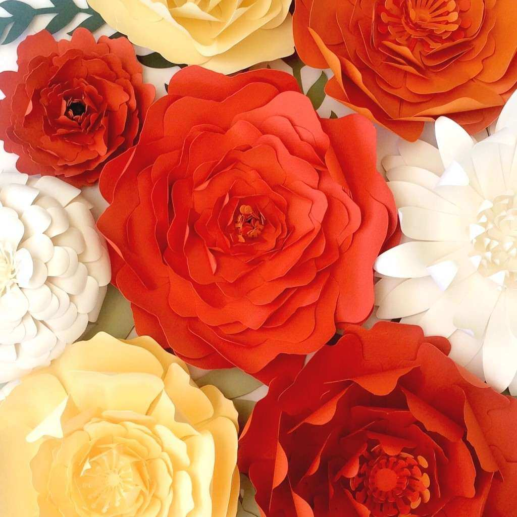 Large Paper Flowers Wall Decor Fresh Paper Flower Wall Decor Backdrops for events or