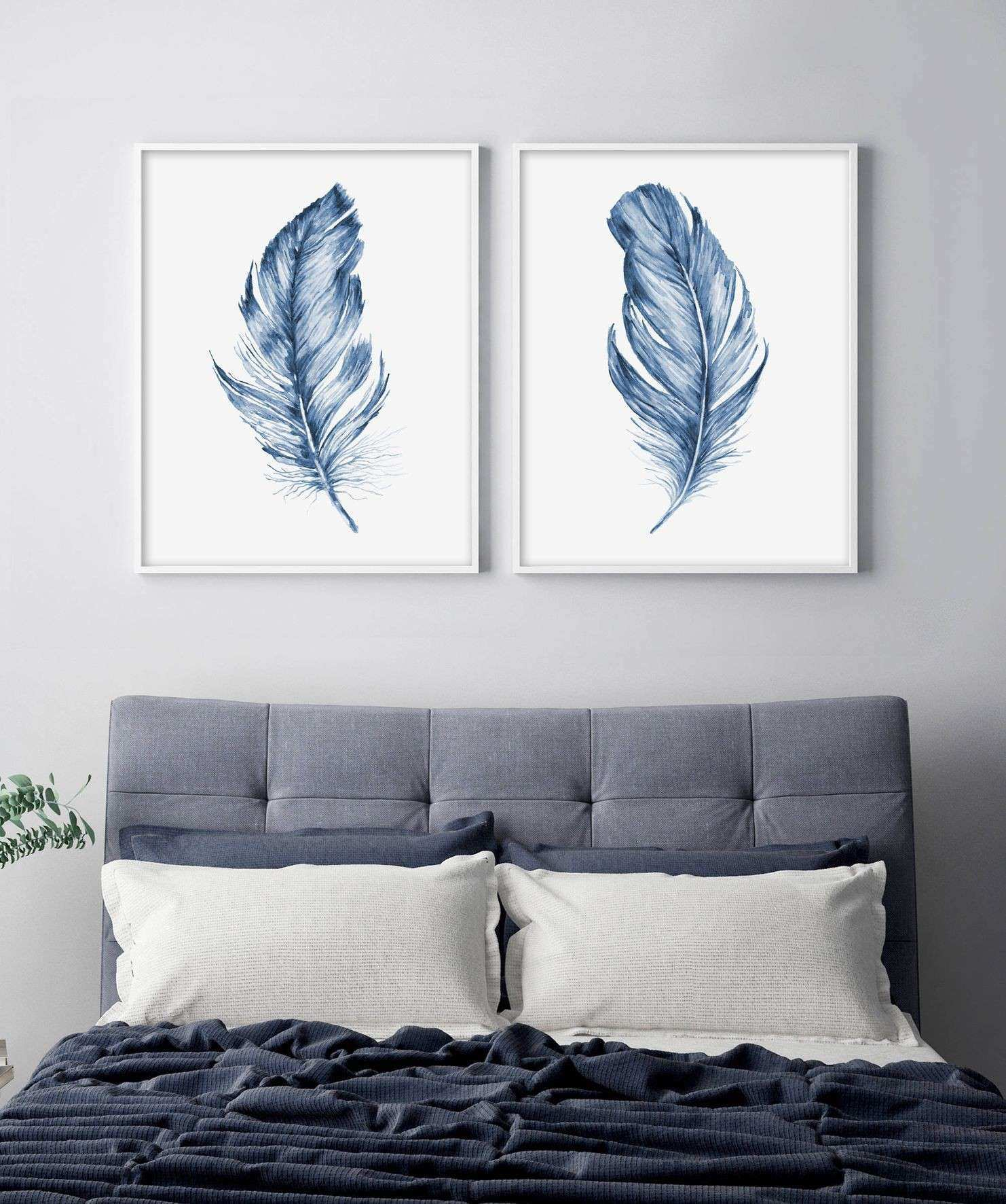 Large Photo Prints for Walls Beautiful Feather Printable Wall Art ...