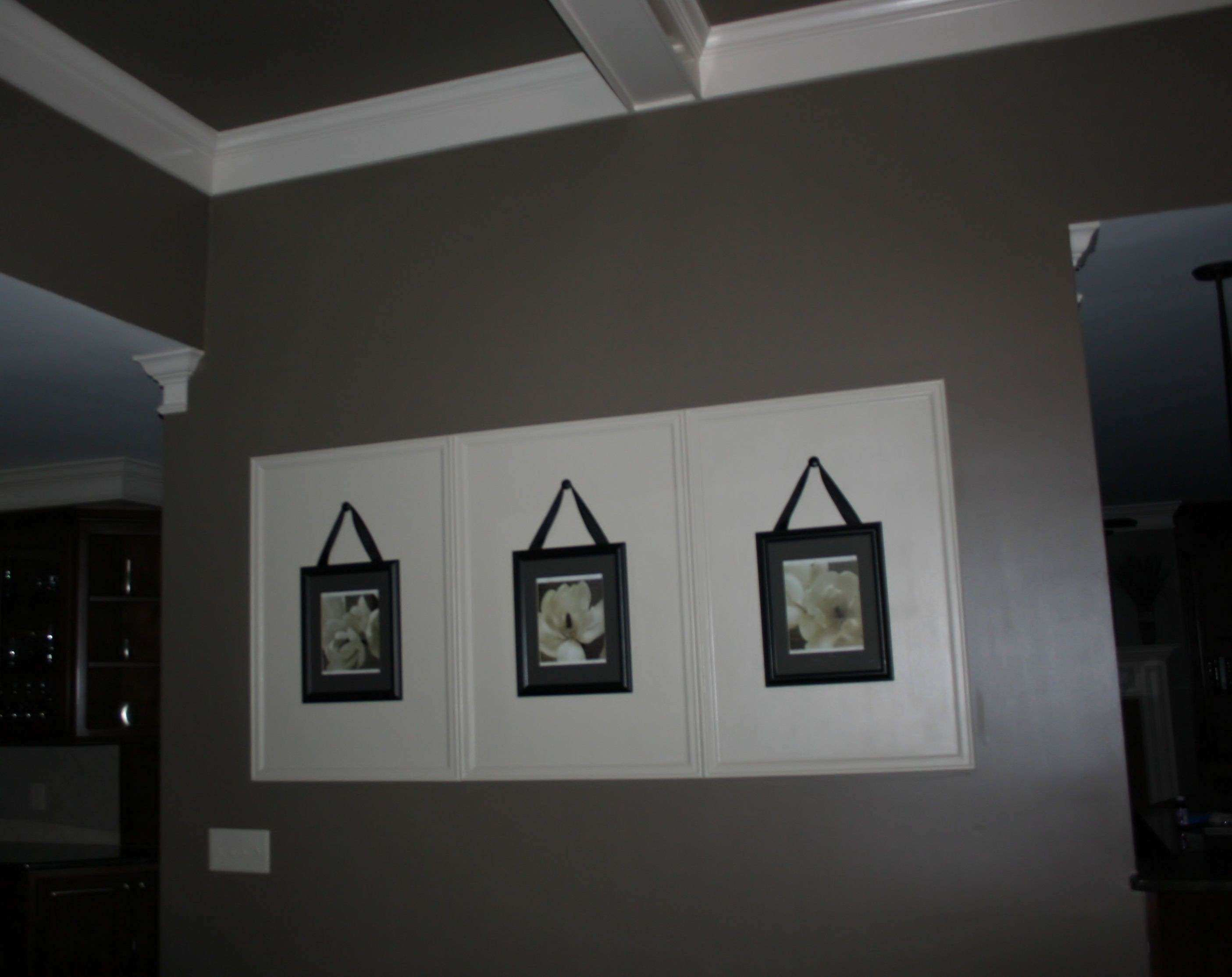 large wall decor simple & inexpensive paint wall frame using
