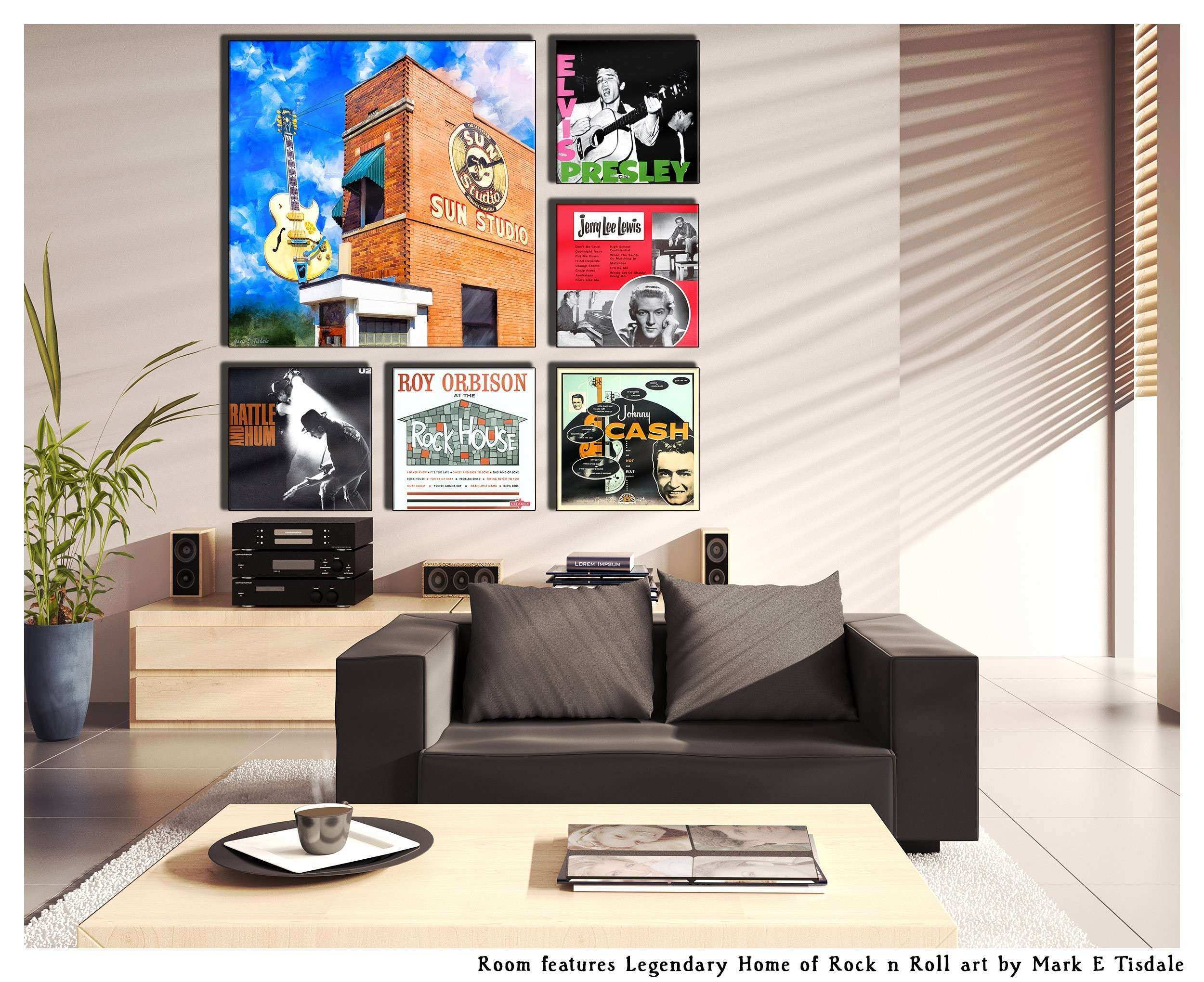 Album Cover Wall Art Display Ideas Grouping With Art Mark on Art