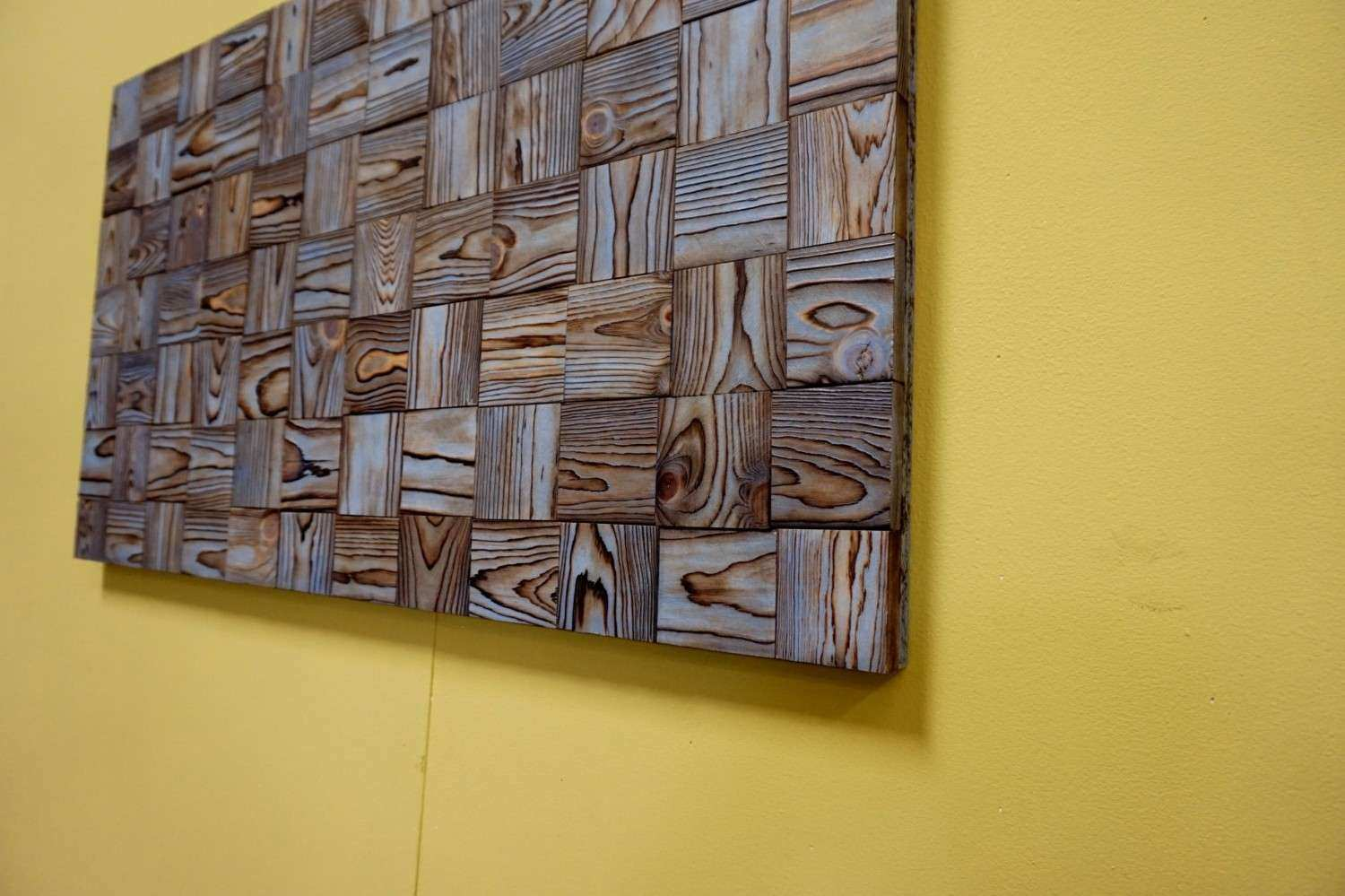 Best Recycled Wood Wall Art Pictures Inspiration - The Wall Art ...