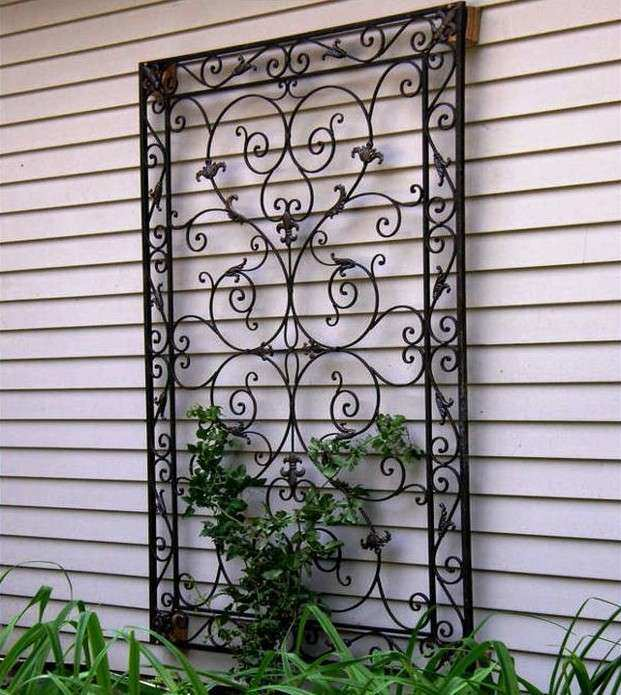wrought iron wall decor birds The Reflection of Your