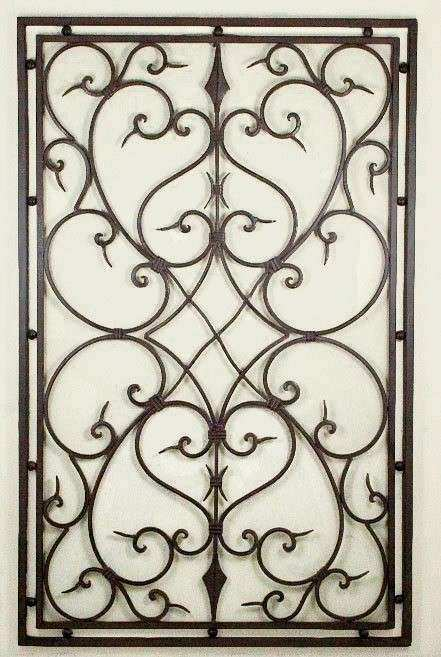 Wrought Iron Wall Designs