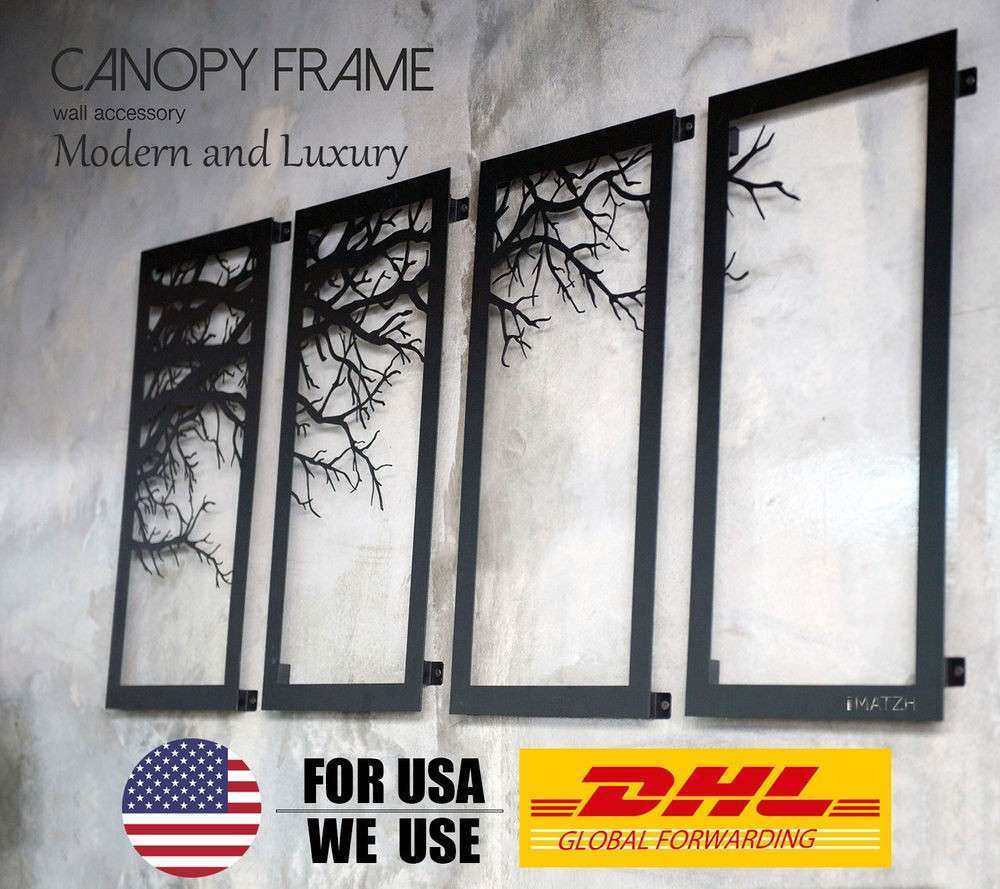 Laser Cut Metal Wall Art Luxury Tree Branch Framed Wall Decor Laser Cutting Metal Wall Art